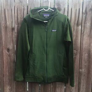 Patagonia stretchy green jacket